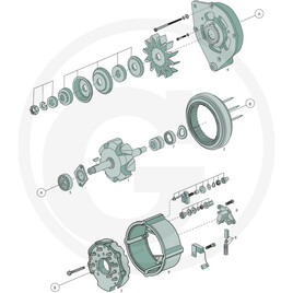 BOSCH Deep groove ball bearing